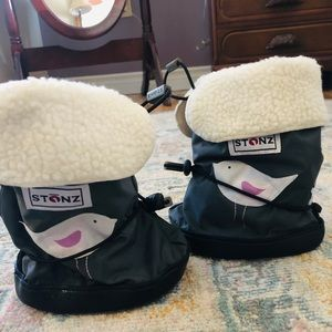 Toddler booties and liners - like new